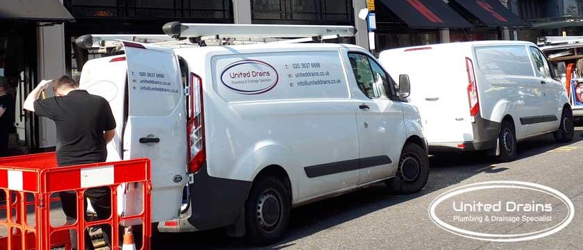 drainage services london